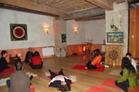Formation professeur de yoga - Salle d'enseignement du yoga