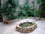 jardin salle de pratique de yoga