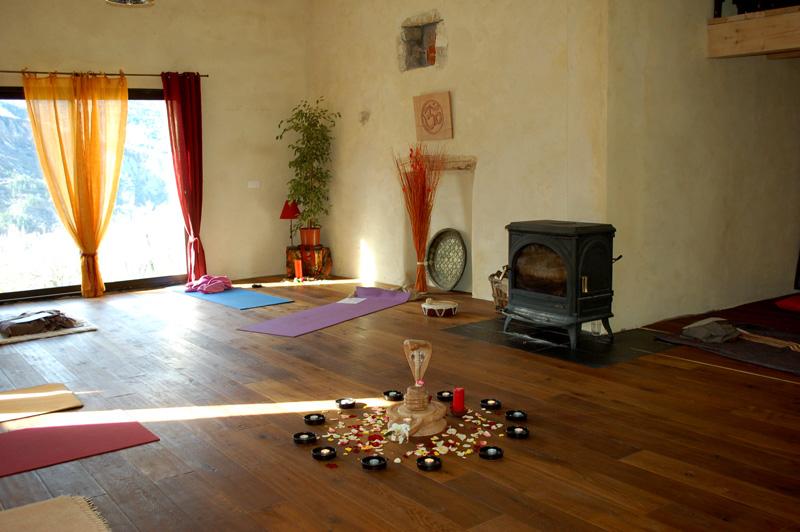 retraite de yoga provence