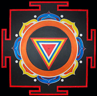 retraites de Yoga - Kali Yantra