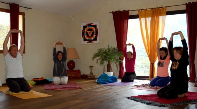 Stages retraites de Yoga basés sur un enseignement traditionnel et authentique