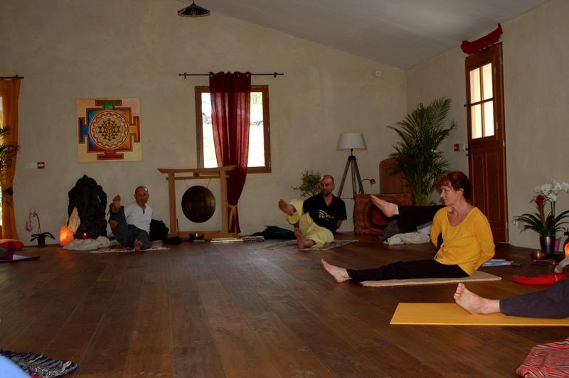 Stage de Yoga pratique d'ekapadasirsasana